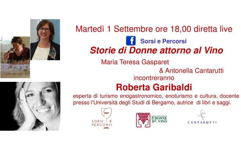 STORIE ATTORNO AL VINO CON ROBERTA GARIBALDI