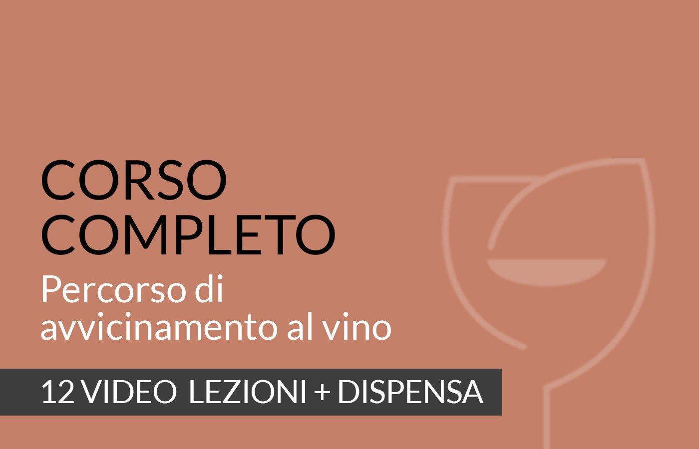 Percorso di avvicinamento al vino Video corso