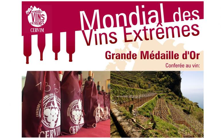"""Le medaglie del """"Mondial des Vins Extrêmes"""". Per l'Italia sul podio salgono Valle d'Aosta, Sicilia e Piemonte"""